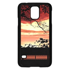 Autumn Song Autumn Spreading Its Wings All Around Samsung Galaxy S5 Case (black)