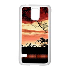 Autumn Song Autumn Spreading Its Wings All Around Samsung Galaxy S5 Case (white)