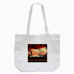 Autumn Song Autumn Spreading Its Wings All Around Tote Bag (White)