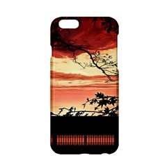 Autumn Song Autumn Spreading Its Wings All Around Apple iPhone 6/6S Hardshell Case