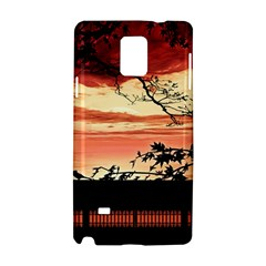 Autumn Song Autumn Spreading Its Wings All Around Samsung Galaxy Note 4 Hardshell Case