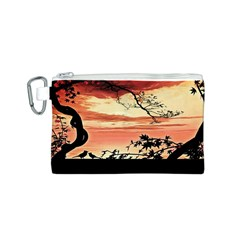 Autumn Song Autumn Spreading Its Wings All Around Canvas Cosmetic Bag (S)