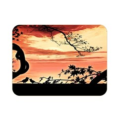 Autumn Song Autumn Spreading Its Wings All Around Double Sided Flano Blanket (mini)