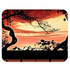 Autumn Song Autumn Spreading Its Wings All Around Double Sided Flano Blanket (medium)