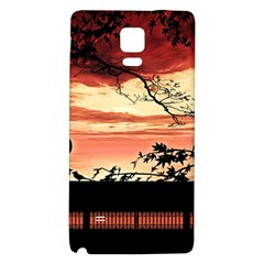 Autumn Song Autumn Spreading Its Wings All Around Galaxy Note 4 Back Case