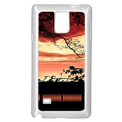 Autumn Song Autumn Spreading Its Wings All Around Samsung Galaxy Note 4 Case (white)