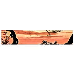 Autumn Song Autumn Spreading Its Wings All Around Flano Scarf (small)