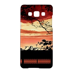 Autumn Song Autumn Spreading Its Wings All Around Samsung Galaxy A5 Hardshell Case