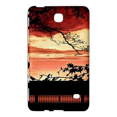 Autumn Song Autumn Spreading Its Wings All Around Samsung Galaxy Tab 4 (7 ) Hardshell Case