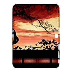 Autumn Song Autumn Spreading Its Wings All Around Samsung Galaxy Tab 4 (10.1 ) Hardshell Case