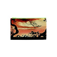 Autumn Song Autumn Spreading Its Wings All Around Cosmetic Bag (xs)