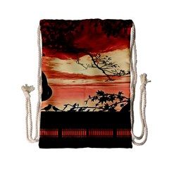 Autumn Song Autumn Spreading Its Wings All Around Drawstring Bag (small)