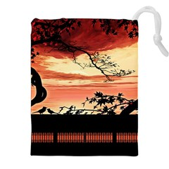 Autumn Song Autumn Spreading Its Wings All Around Drawstring Pouches (XXL)