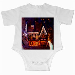 House In Winter Decoration Infant Creepers