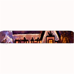 House In Winter Decoration Small Bar Mats
