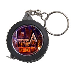 House In Winter Decoration Measuring Tapes