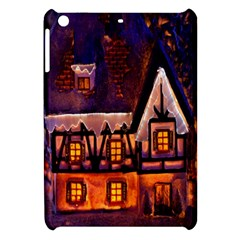 House In Winter Decoration Apple Ipad Mini Hardshell Case
