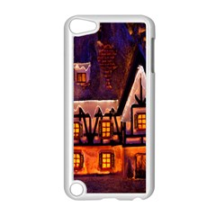House In Winter Decoration Apple Ipod Touch 5 Case (white)
