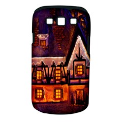 House In Winter Decoration Samsung Galaxy S Iii Classic Hardshell Case (pc+silicone)