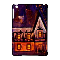 House In Winter Decoration Apple iPad Mini Hardshell Case (Compatible with Smart Cover)