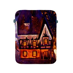 House In Winter Decoration Apple Ipad 2/3/4 Protective Soft Cases