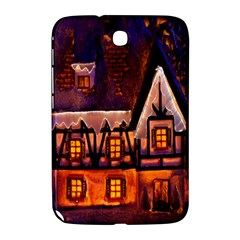 House In Winter Decoration Samsung Galaxy Note 8 0 N5100 Hardshell Case