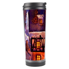 House In Winter Decoration Travel Tumbler