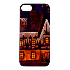 House In Winter Decoration Apple Iphone 5s/ Se Hardshell Case
