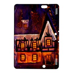 House In Winter Decoration Kindle Fire Hdx 8 9  Hardshell Case