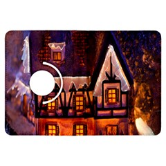House In Winter Decoration Kindle Fire HDX Flip 360 Case