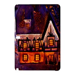 House In Winter Decoration Samsung Galaxy Tab Pro 10.1 Hardshell Case