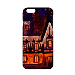 House In Winter Decoration Apple Iphone 6/6s Hardshell Case