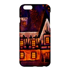 House In Winter Decoration Apple iPhone 6 Plus/6S Plus Hardshell Case