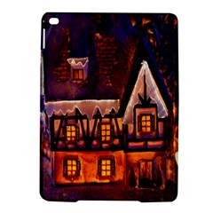 House In Winter Decoration Ipad Air 2 Hardshell Cases