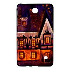 House In Winter Decoration Samsung Galaxy Tab 4 (7 ) Hardshell Case