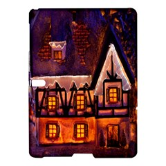 House In Winter Decoration Samsung Galaxy Tab S (10 5 ) Hardshell Case
