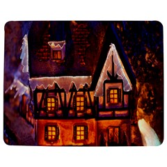 House In Winter Decoration Jigsaw Puzzle Photo Stand (rectangular)