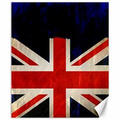 Flag Of Britain Grunge Union Jack Flag Background Canvas 8  x 10
