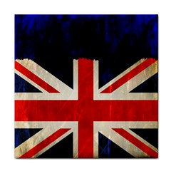 Flag Of Britain Grunge Union Jack Flag Background Face Towel