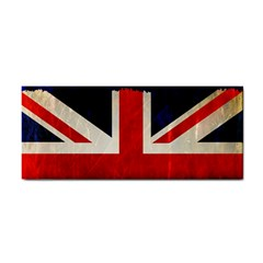 Flag Of Britain Grunge Union Jack Flag Background Cosmetic Storage Cases