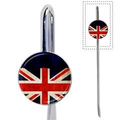 Flag Of Britain Grunge Union Jack Flag Background Book Mark