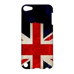 Flag Of Britain Grunge Union Jack Flag Background Apple iPod Touch 5 Hardshell Case