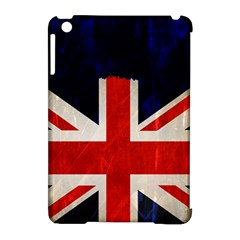 Flag Of Britain Grunge Union Jack Flag Background Apple Ipad Mini Hardshell Case (compatible With Smart Cover)