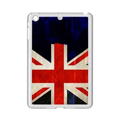 Flag Of Britain Grunge Union Jack Flag Background Ipad Mini 2 Enamel Coated Cases