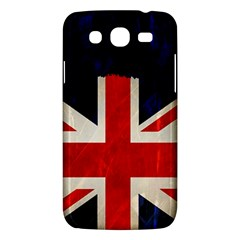 Flag Of Britain Grunge Union Jack Flag Background Samsung Galaxy Mega 5.8 I9152 Hardshell Case