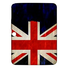 Flag Of Britain Grunge Union Jack Flag Background Samsung Galaxy Tab 3 (10.1 ) P5200 Hardshell Case