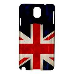Flag Of Britain Grunge Union Jack Flag Background Samsung Galaxy Note 3 N9005 Hardshell Case