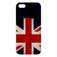 Flag Of Britain Grunge Union Jack Flag Background Iphone 5s/ Se Premium Hardshell Case