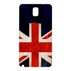 Flag Of Britain Grunge Union Jack Flag Background Samsung Galaxy Note 3 N9005 Hardshell Back Case