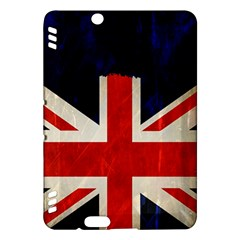 Flag Of Britain Grunge Union Jack Flag Background Kindle Fire Hdx Hardshell Case